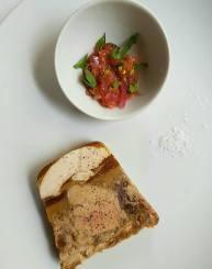 terrine de foie gras pintade